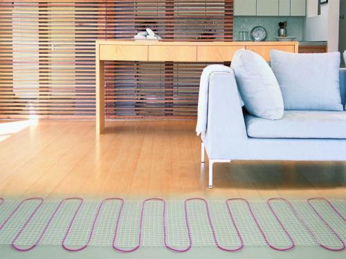 Как выбрать ламинат для дома на теплый пол. Особенности покрытия