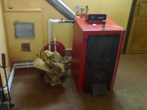 Схема электроотопления частного дома. Основные элементы контуров отопления