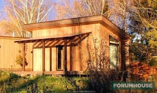 Мини домики своими руками. Проект, пирог стен, смета и особенности дизайна мини-дома площадью 26 кв. м