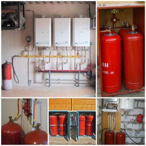 Котел на газу в баллонах. Газовый котёл на сжиженном газе (баллонном газе) — принцип работы, расход, обзор производителей
