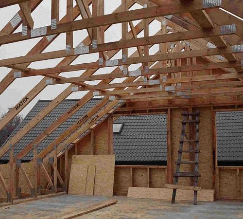 Как поднять крышу дома для увеличения высоты потолков. Технология и способы подъема крыши своими руками: делаем мансарду под крышей