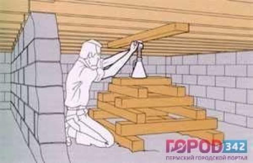 Как поднять потолки в старом деревянном доме. Как можно поднять потолок 01