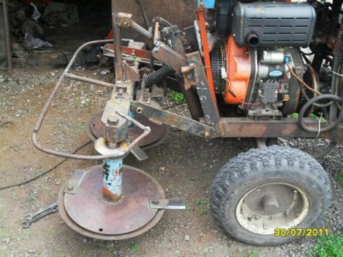 Как сделать самодельную навеску на самодельный трактор своими руками чертежи. Роторная косилка на минитрактор