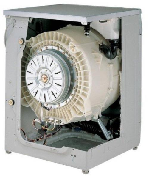 Замена подшипников на стиральной машине LG с прямым приводом 1058. Замена подшипников стиральной машины LG с прямым приводом