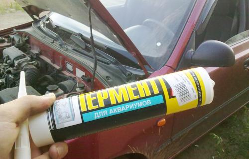 Что такое автомобильный герметик. Правила использования автомобильного герметика