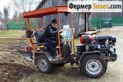 Самодельные мини-трактора или, как сделать трактор. Преимущества и недостатки самодельных минитракторов