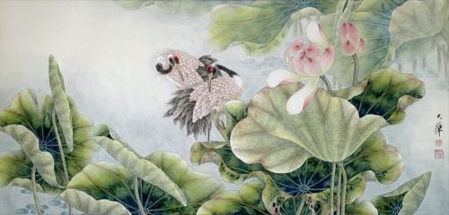Китайская живопись цветы и птицы. Живопись цветы-птицы Китай