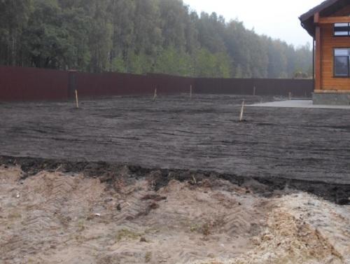 Поднятие уровня земли до завоза почвы. Как поднять участок с высоким уровнем грунтовых вод (УГВ)
