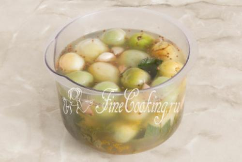 лягушата из зеленых помидоров рецепт