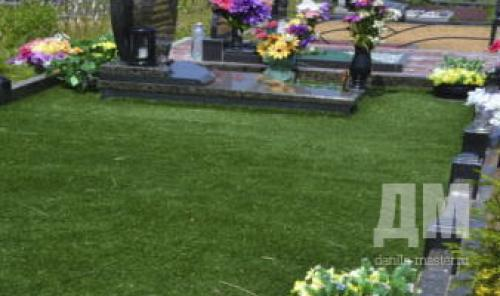 Травянистые растения на могилу. Выбор растений для озеленения могилы 06