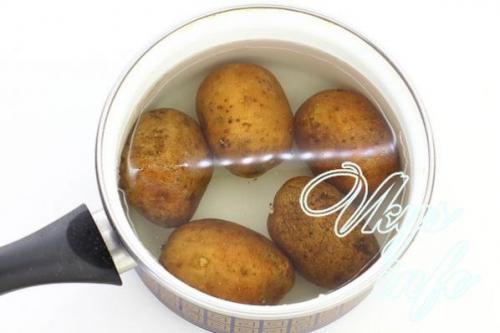 Картошка в духовке с майонезом и сыром чесноком. Как приготовить запеченную картошку с майонезом, луком в духовке под сырной корочкой