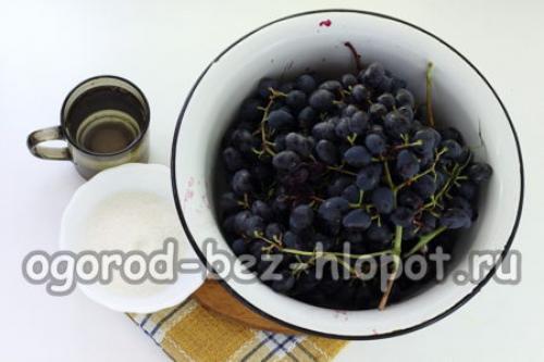 Как сделать виноградный сок без соковыжималки. Виноградный сок без соковыжималки