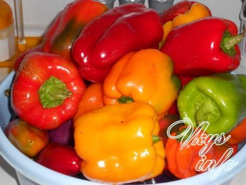 Перец маринованный на зиму с петрушкой и чесноком. Как приготовить маринованный болгарский перец с чесноком на зиму