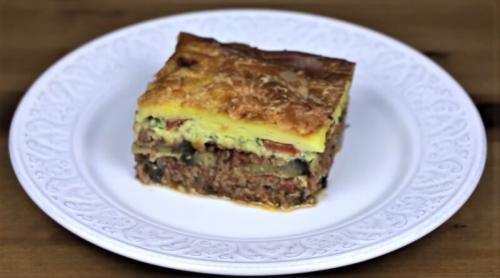 Мусака рецепт с баклажанами и фаршем и картофелем. Мусака по-гречески с баклажанами — классический рецепт