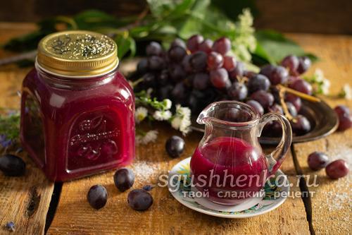 Как из винограда отжать сок. Натуральный виноградный сок через соковыжималку
