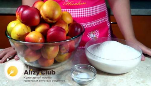 Как консервировать нектарины в домашних условиях. Подготовка нектаринов и тары к консервации