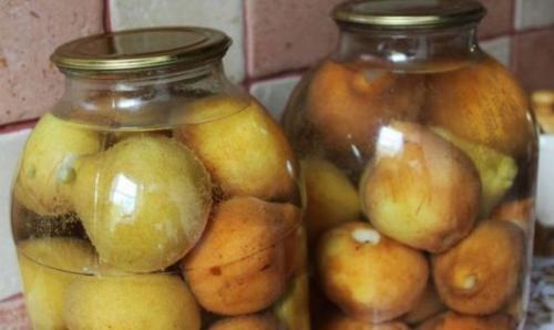 Маринованные груши целиком. Рецепт груш, маринованных на зиму целиком