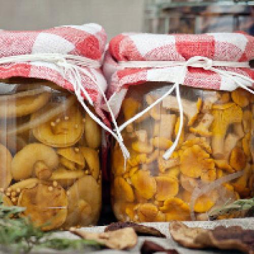 Грибы белые консервация. Белые грибы на зиму в банках