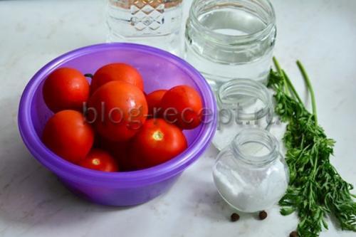 Зеленые помидоры с морковной ботвой на зиму рецепты. Список ингредиентов