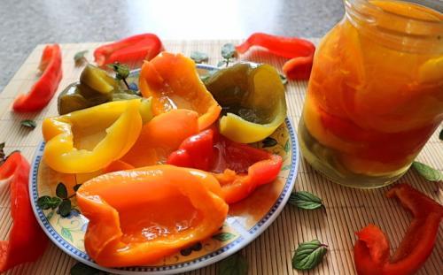 Маринованный болгарский перец на зиму. Маринованный перец на зиму – 9 простых рецептов