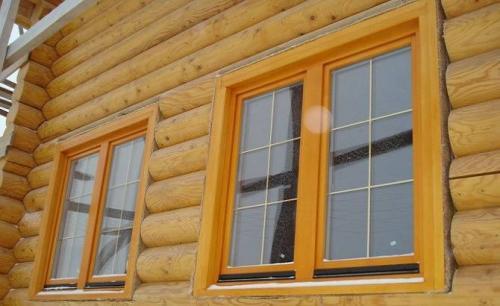 Деревянные окна сосна или лиственница. Оконные блоки из сосны